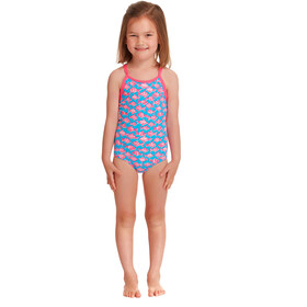 Funkita Printed One Piece Badpak Peuters, fancy fish